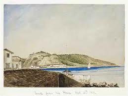 ZANTE . by H. S. Bush, 1851, watercolour