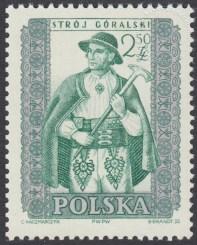 Polskie stroje ludowe - 1001B