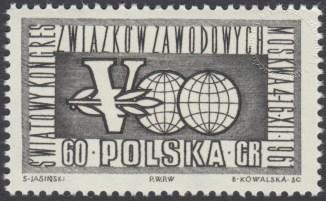 V Światowy Kongres Związków Zawodowych - 1123