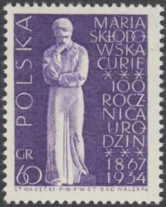 100 rocznica urodzin Marii Skłodowskiej Curie - 1632