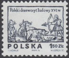 Polski drzeworyt ludowy z XVIw. - 2204