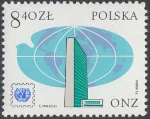 25 lecie pierwszego znaczka ONZ - 2304