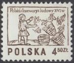 Polski drzeworyt ludowy XVIw. - 2391