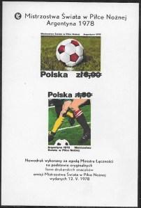 Mistrzostwa Świata w piłce nożnej w Argentynie - ark. 2410-2411ND