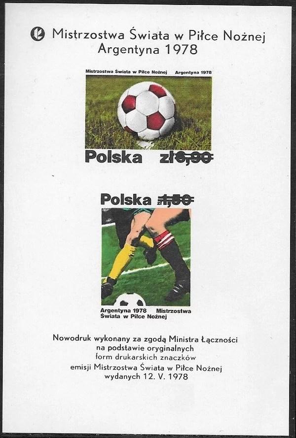 Mistrzostwa Świata w piłce nożnej w Argentynie – ark. 2410-2411ND