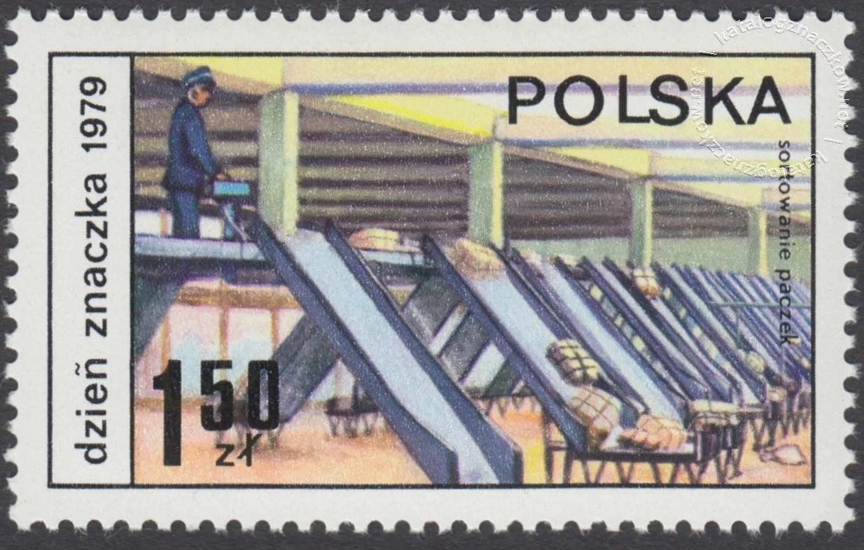 Dzień Znaczka – postęp pocztowy znaczek nr 2504