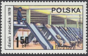 Dzień Znaczka - postęp pocztowy - 2504