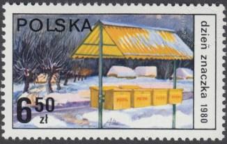 Dzień Znaczka - postęp pocztowy - 2570