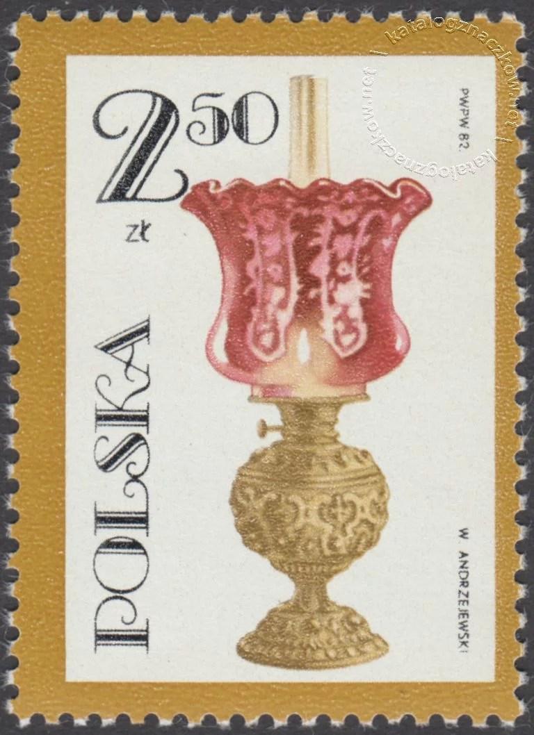 100 rocznica śmierci Ignacego Łukaszewicza znaczek nr 2653