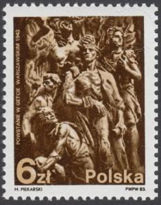 40 rocznica powstania w getcie warszawskim - 2718