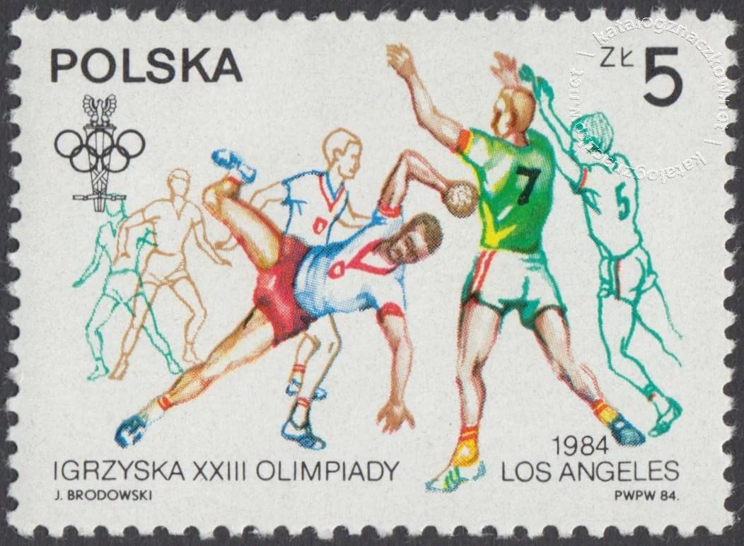 XIV ZIOl w Sarajewie i XXIII IOl w Los Angeles znaczek nr 2765
