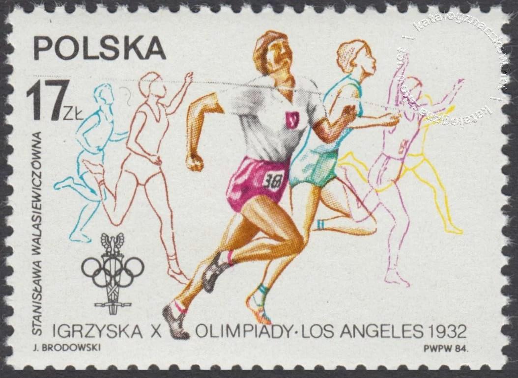XIV ZIOl w Sarajewie i XXIII IOl w Los Angeles znaczek nr 2769