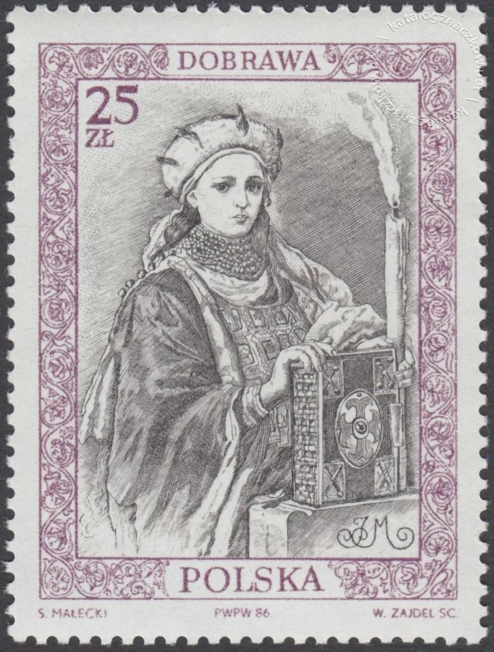 Poczet królów i książąt polskich znaczek nr 2919