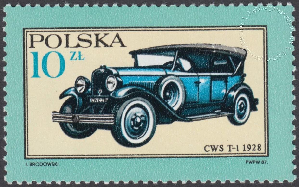 Dawne polskie samochody i motocykle znaczek nr 2944