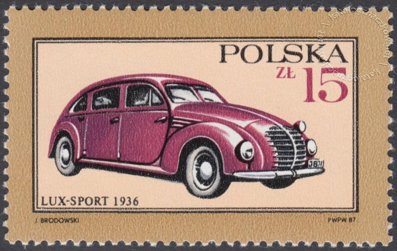 Dawne polskie samochody i motocykle znaczek nr 2946