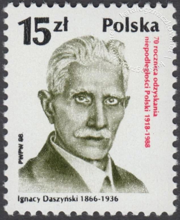 70 rocznica odzyskania niepodległości Polski znaczek nr 3021