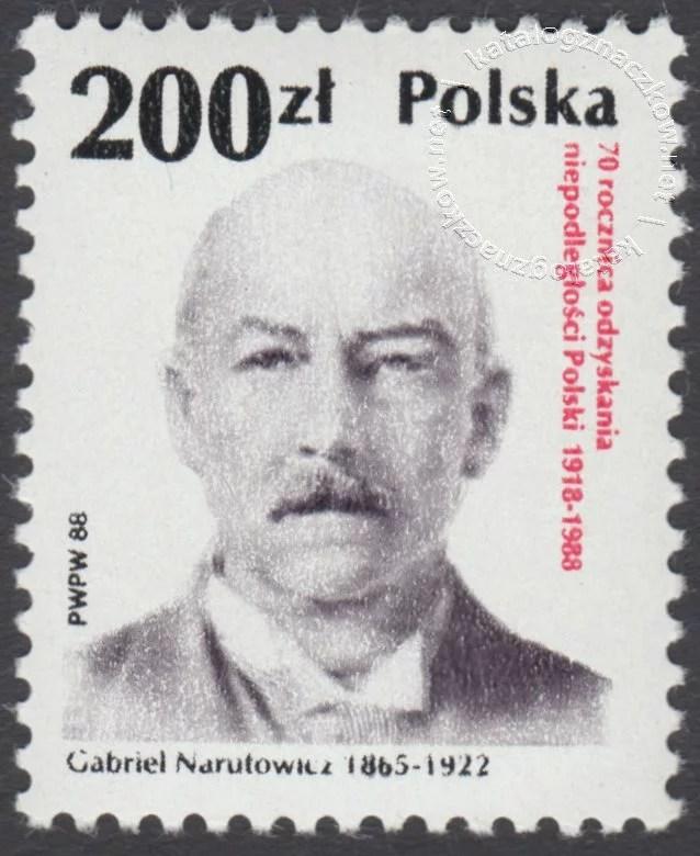 70 rocznica odzyskania niepodległości Polski znaczek nr 3028
