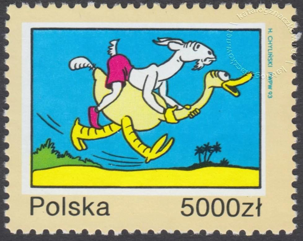 40 rocznica śmierci Kornela Makuszyńskiego znaczek nr 3307