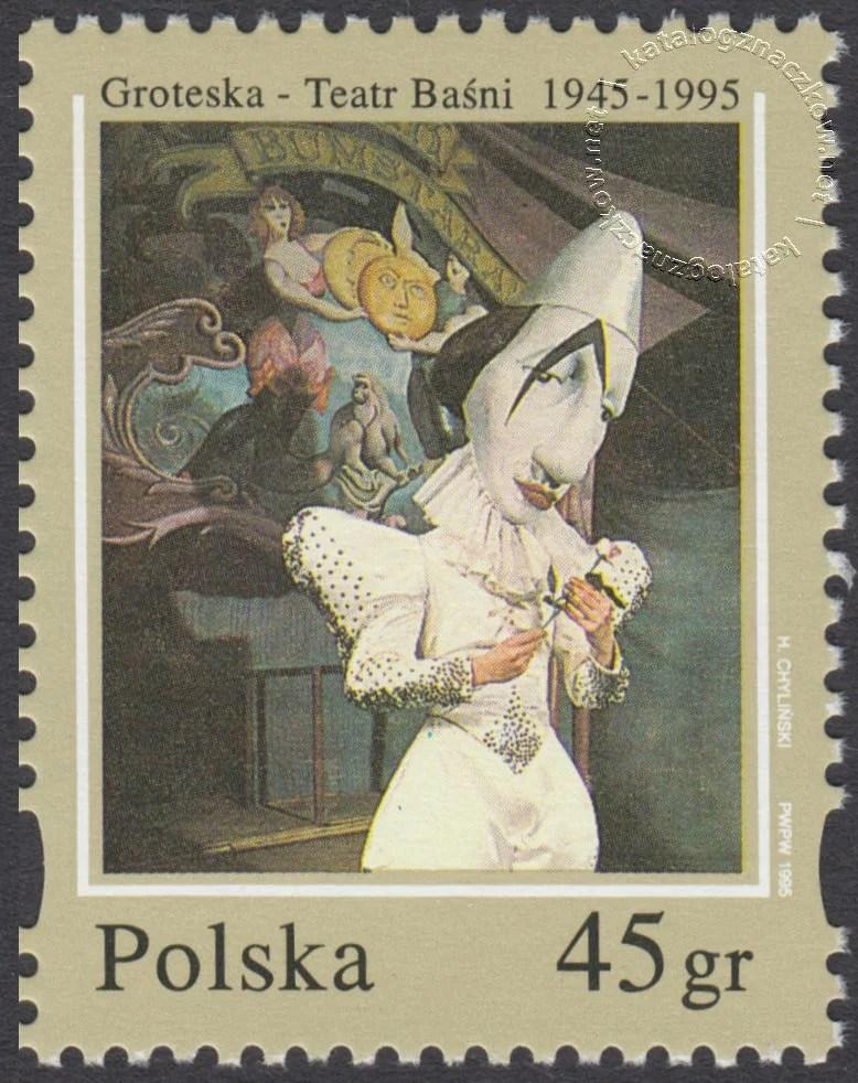 Groteska – Teatr Baśni 1945-1995 znaczek nr 3392