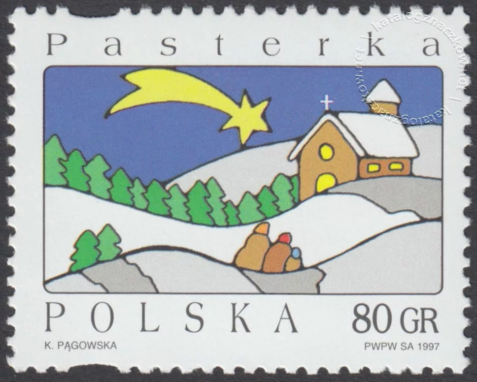 Boże Narodzenie znaczek nr 3536