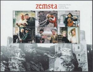 Klasyka polskiego filmu - Zemsta - ark. 3841-3846