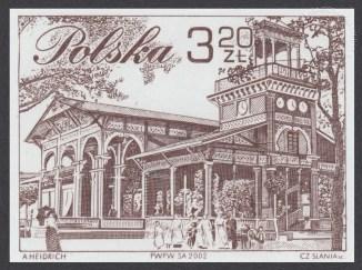 XVIII Walny Zjazd Delegatów Polskiego Związku Filatelistów w Ciechocinku - 3840A