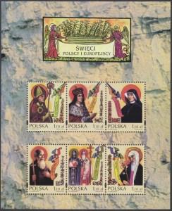 Święci polscy i europejscy ark. 3857-3862