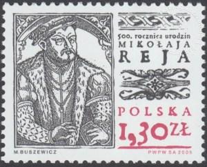 500 Rocznica urodzin Mikołaja Reja (1505 - 1569) - 4019