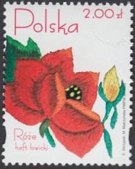 Róże w hafcie polskim - 4046