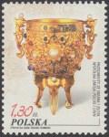 Przedmioty ze srebra i złota. Wspólna emisja Polski i Chin - 4099