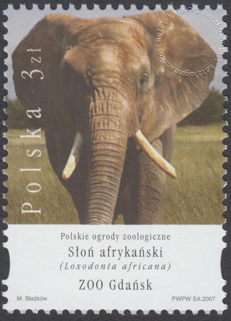 Polskie ogrody zoologiczne znaczek nr 4179