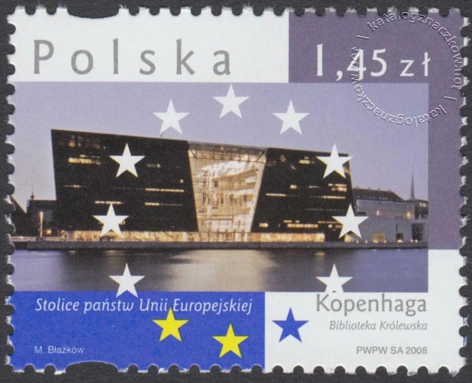Stolice Państw Unii Europejskiej znaczek nr 4244