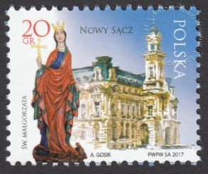 Miasta polskie - Nowy Sącz - 4806