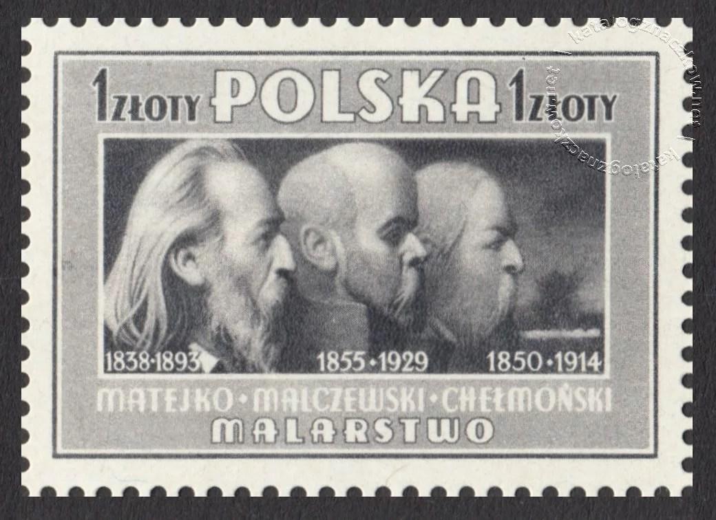 Kultura Polska znaczek nr 429a