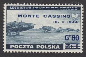 Zdobycie Monte Cassino - znaczek nr S338