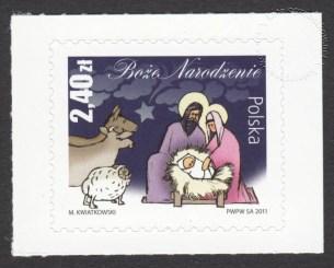 Boże Narodzenie - znaczek nr 4392A