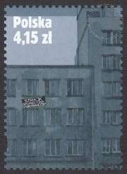 30. rocznica strajku w Wyższej Oficerskiej Szkole Pożarniczej w Warszawie - znaczek nr 4394