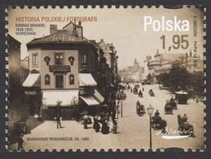 Historia polskiej fotografii - znaczek nr 4405