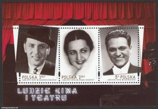 Ludzie kina i teatru - ark. 4437-4439