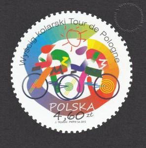 Wyścig kolarski Tour do Pologne - znaczek nr 4470