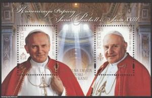 Kanonizacja Papieża Jana Pawła II i Jana XXIII - Blok 180