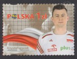 Złoci Medaliści FIVB Mistrzostw świata w piłce siatkowej mężczyzn Polska 2014 - znaczek nr 4586