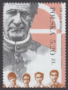 200 rocznica urodzin św. Jana Bosko - znaczek nr 4630
