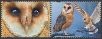 Polskie ptaki - znaczek nr 4647