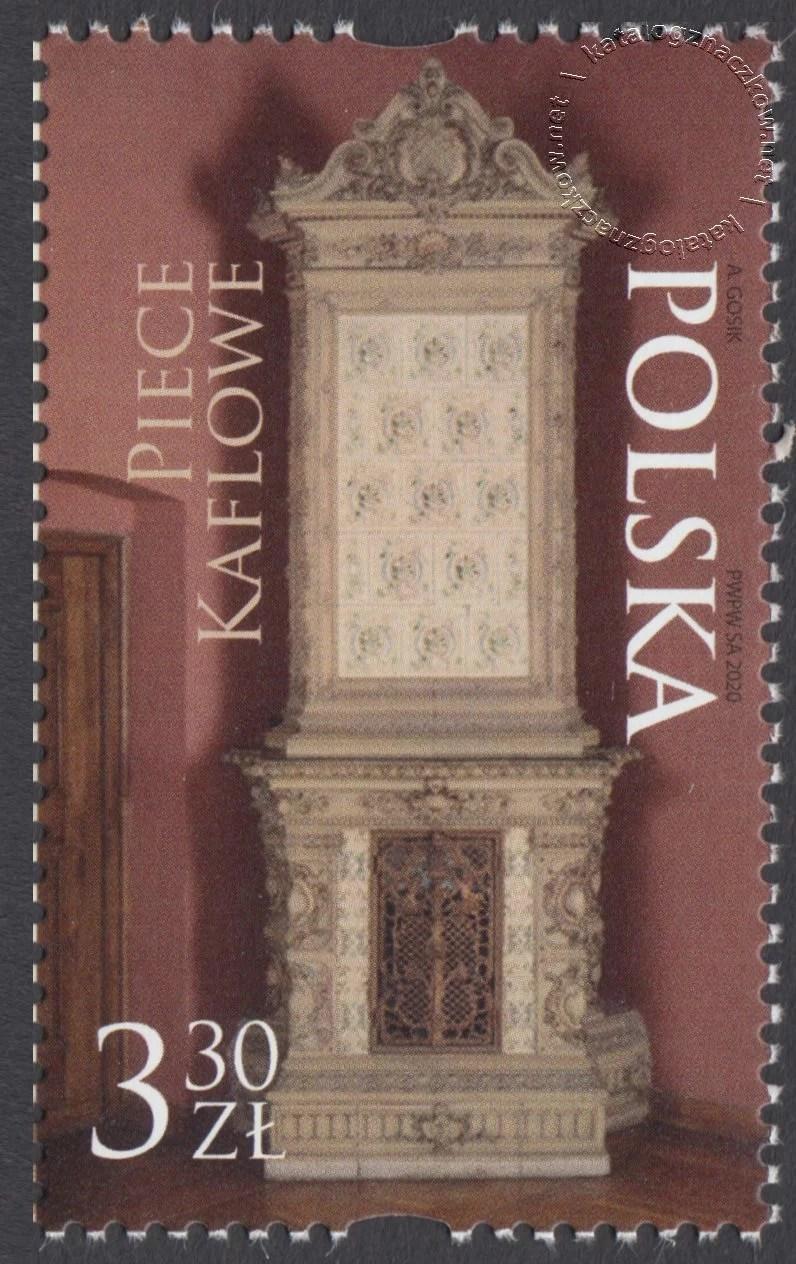 Piece kaflowe znaczek nr 5120