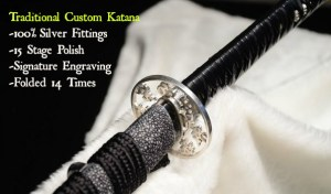 Traditional Custom Katana