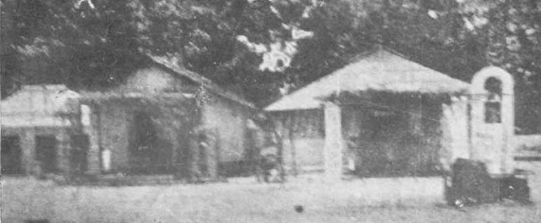 Old photo of Kataragama Devalaya