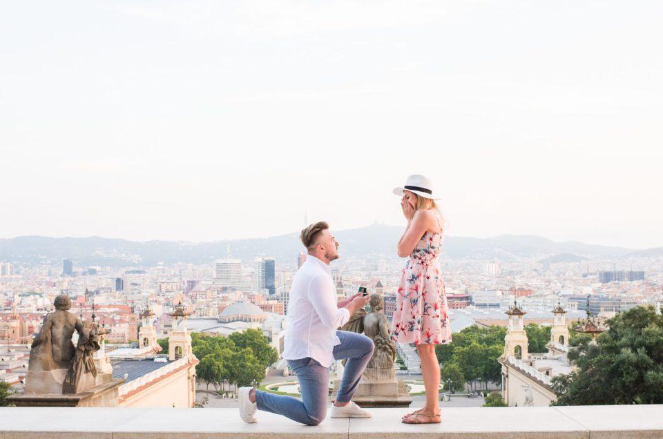 Barcelona surprise proposal