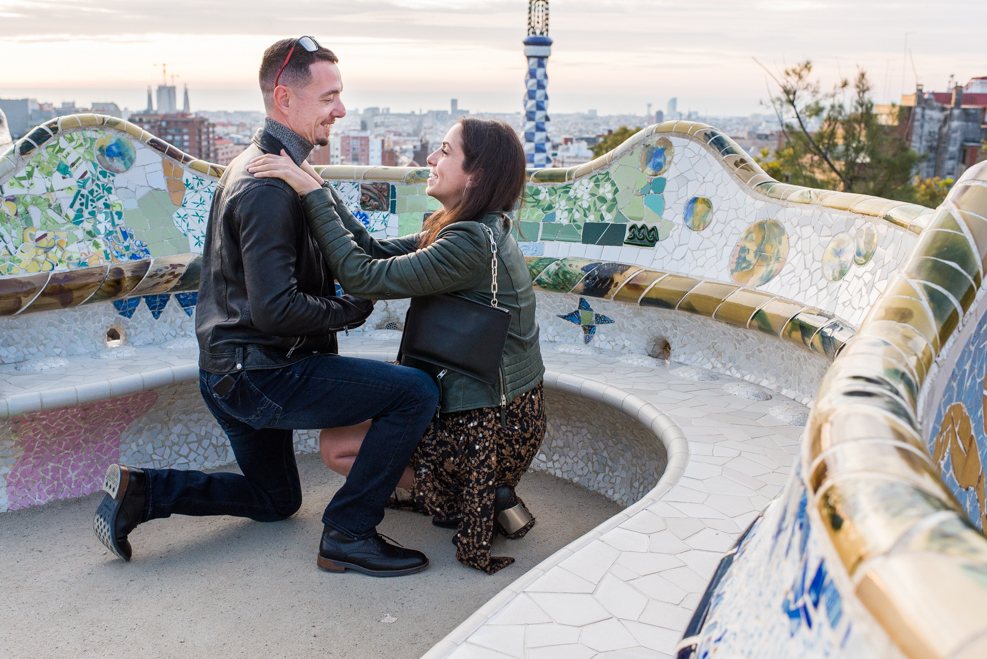 engagement in Barcelona