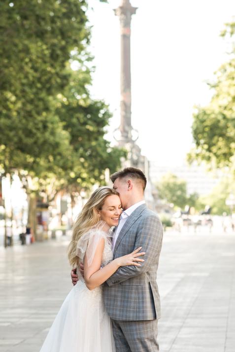 plener ślubny w Barcelonie